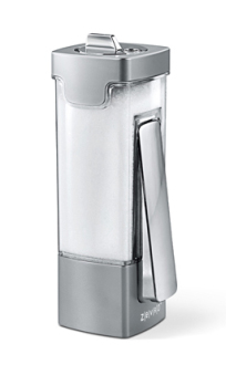 Zevro EMY102c One Click Sugar Salt Container Dispenser Silver Chrome