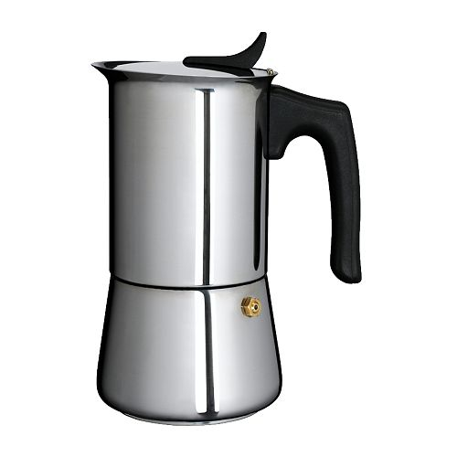 Metal Coffee Maker For Stove : Stovetop Stove Top Stainless Steel Espresso Coffee Maker 6 Cups 12 oz [IKXI80080535] - USD 38.99 ...